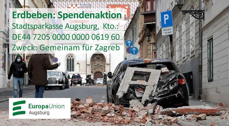Erdbebenhilfe Zagreb