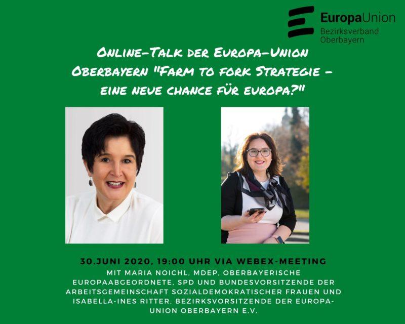Online-Talk mit MdEP Maria Noichl