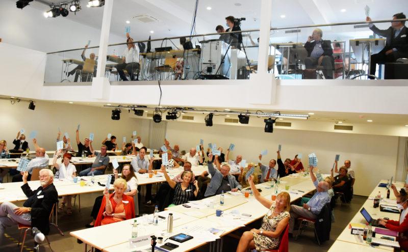 Lndesversammlung mit bürgerforum (Archivbild aus 2020)