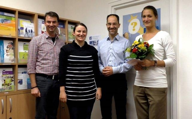 Besuch beim Europa-Büro Augsburg; Quelle: Europa-Union Augsburg, Thorsten Frank