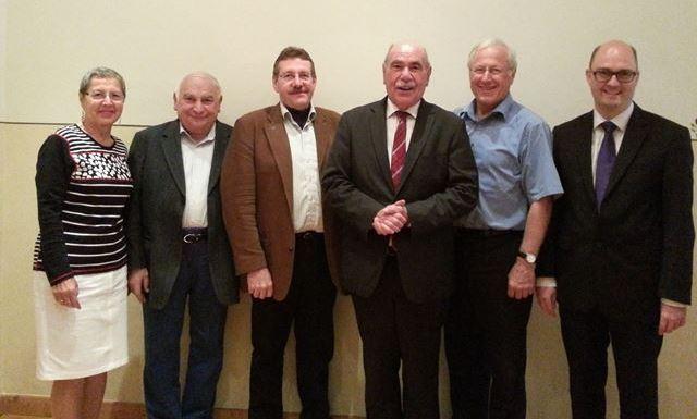Kreisverband Dillingen zusammen mit Ivo Gönner, Oberbürgermeister der Stadt Ulm, auf der Jahreshauptversammlung