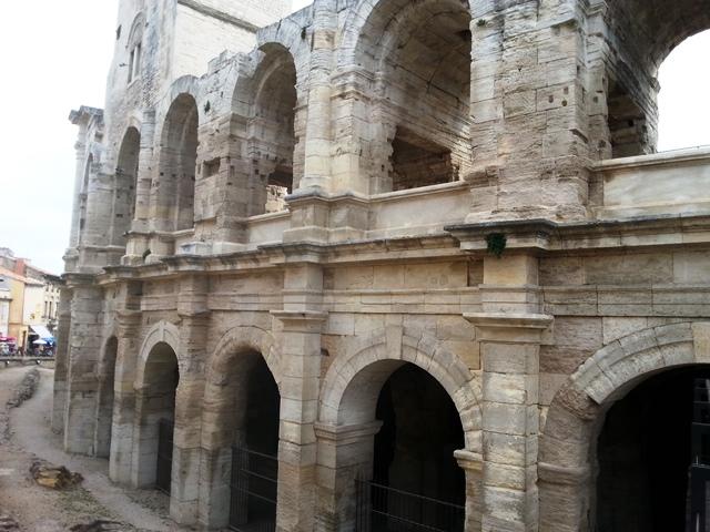 Amphitheater der Stadt Arles