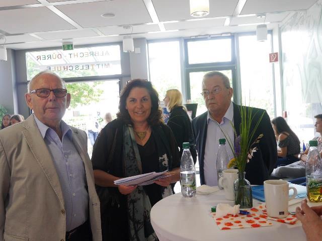 Edgar Hirt, Sabine Oschmann-Hockgeiger, Hans-Dieter Scherpf