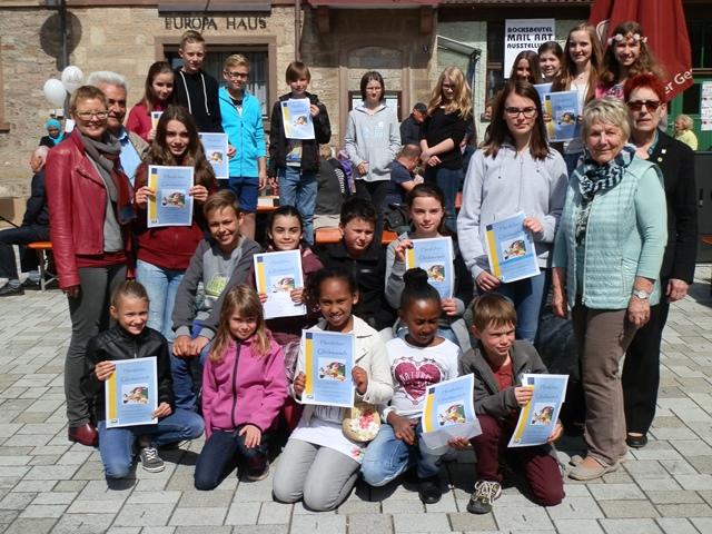 Die GewinnerInnen des Europäischen Schulwettbewerbs
