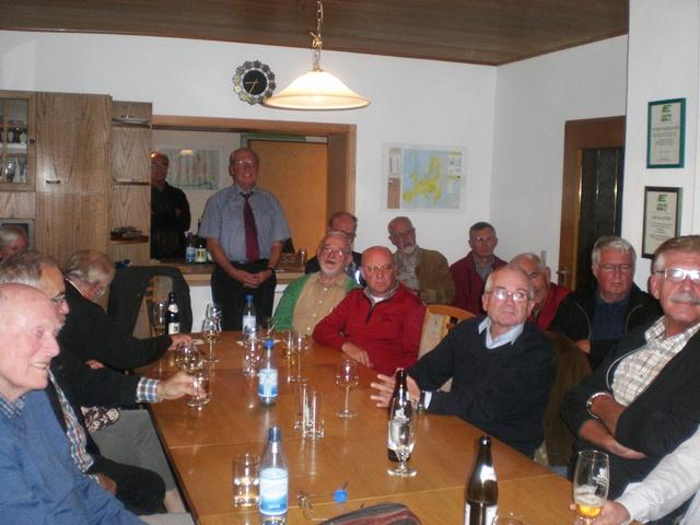 Interessierte Mitglieder und Zuhörer des Vortrages zum aktuellen Griechenland Thema von Herrn Peter Bauch