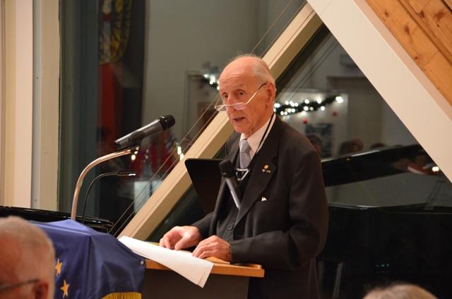 Kreisvorsitzender der Europa-Union Memmingen Lajos Oszlari