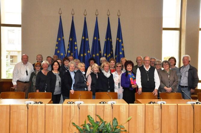Im Parlament in Vilnius