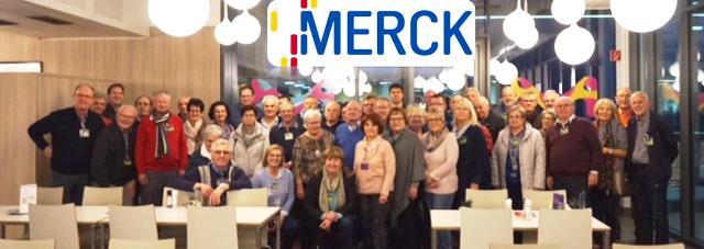 Empfang bei Fa. Merck in Darmstadt