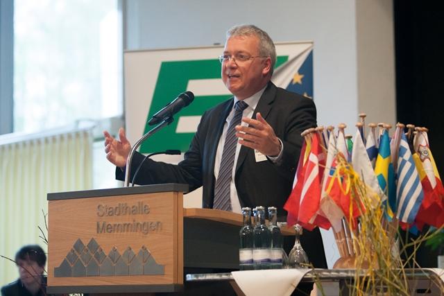 Gastredner Markus Ferber, MdEP und Vorsitzender der Europa-Union Bayern