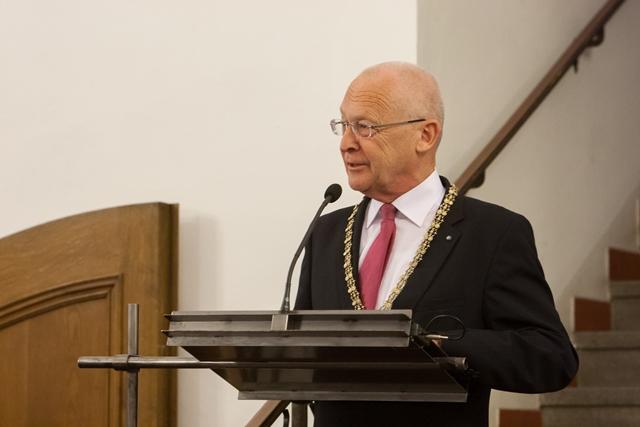 Oberbürgermeister Dr. Ivo Holzinger bei dem Staatsempfang der bayerischen Minsterin