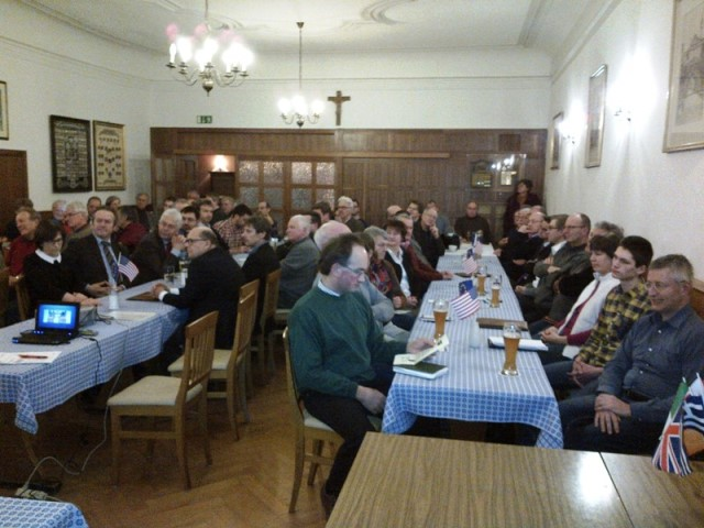 """90 Zuhörer bei der Veranstaltung """"TTIP - Mythen und Fakten"""" des Kreisverbandes Straubing-Bogen"""