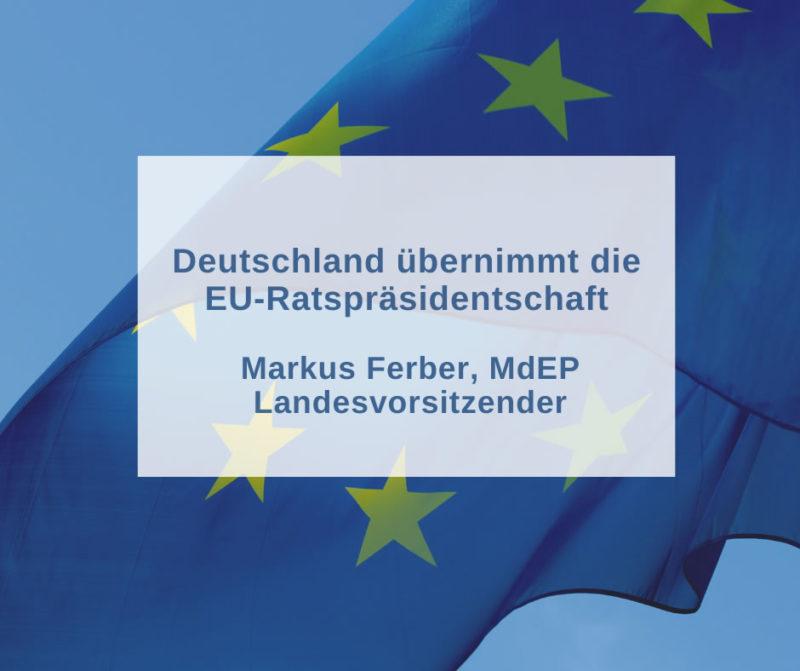 Deutschland übernimmt die EU-Ratspräsidentschaft