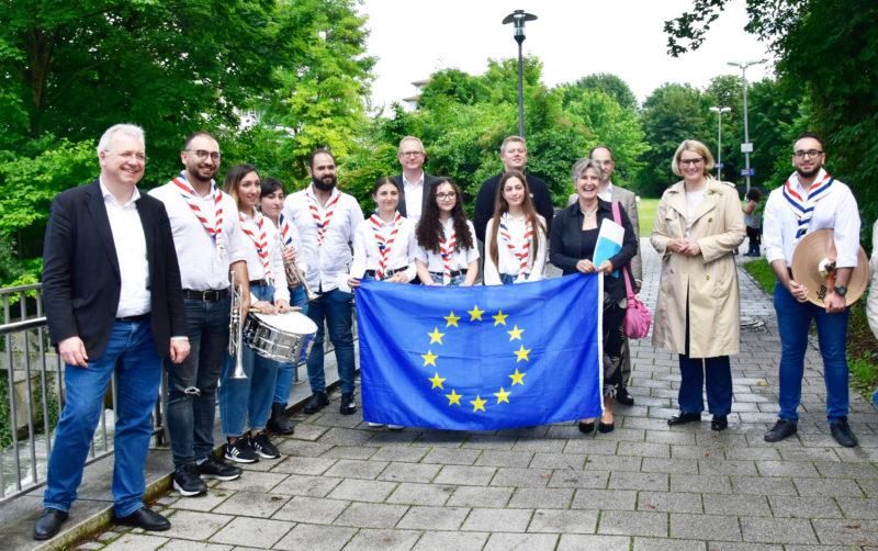 Preisträger bei Dein Projekt für Europa