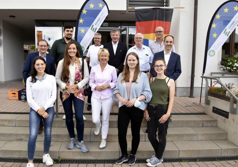 Eröffnung Europas Wertewanderweg Laufach